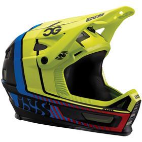 IXS Xult Fullface Helmet black/blue/lime